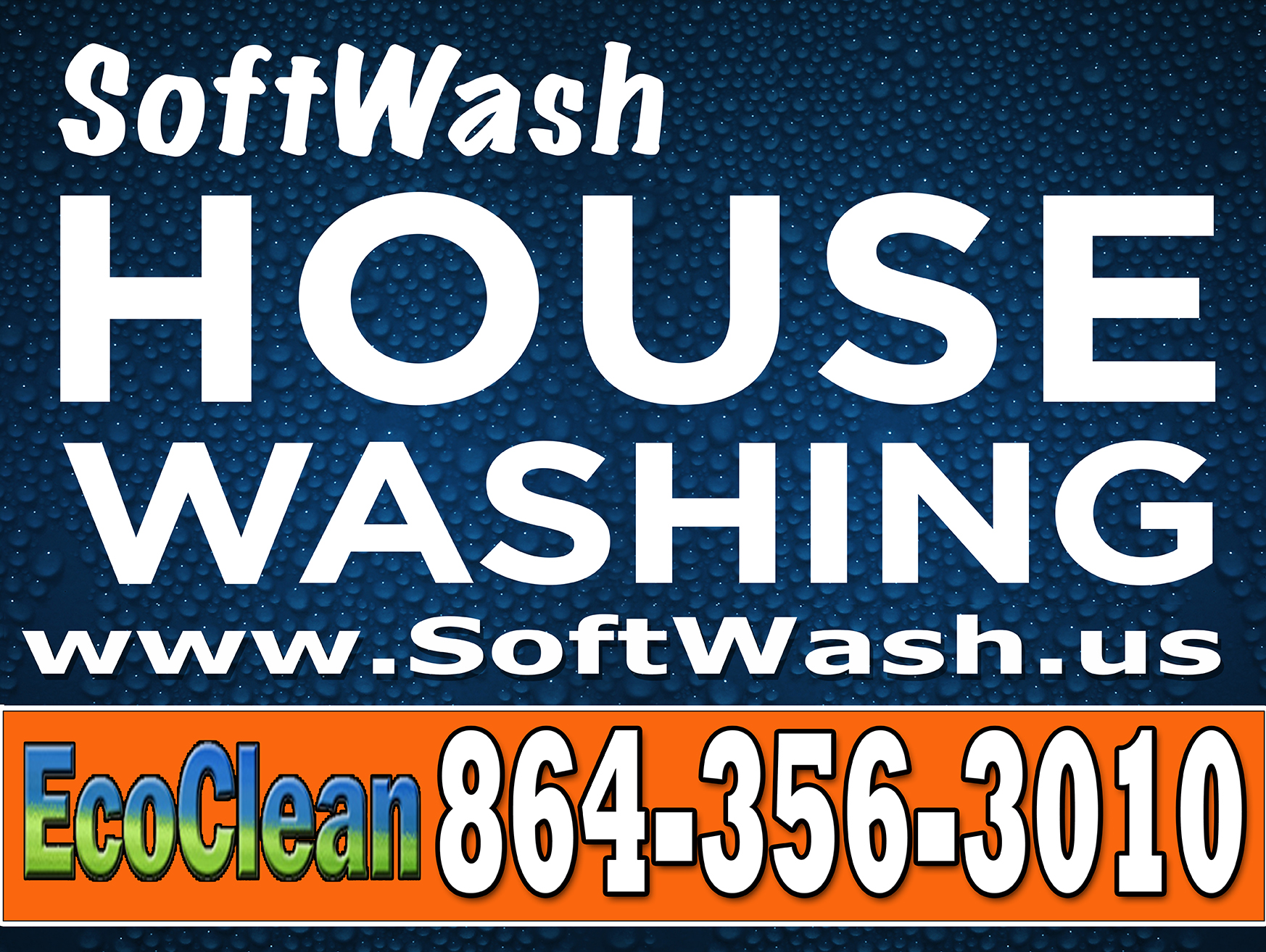 House Washing signs by Sign2Day