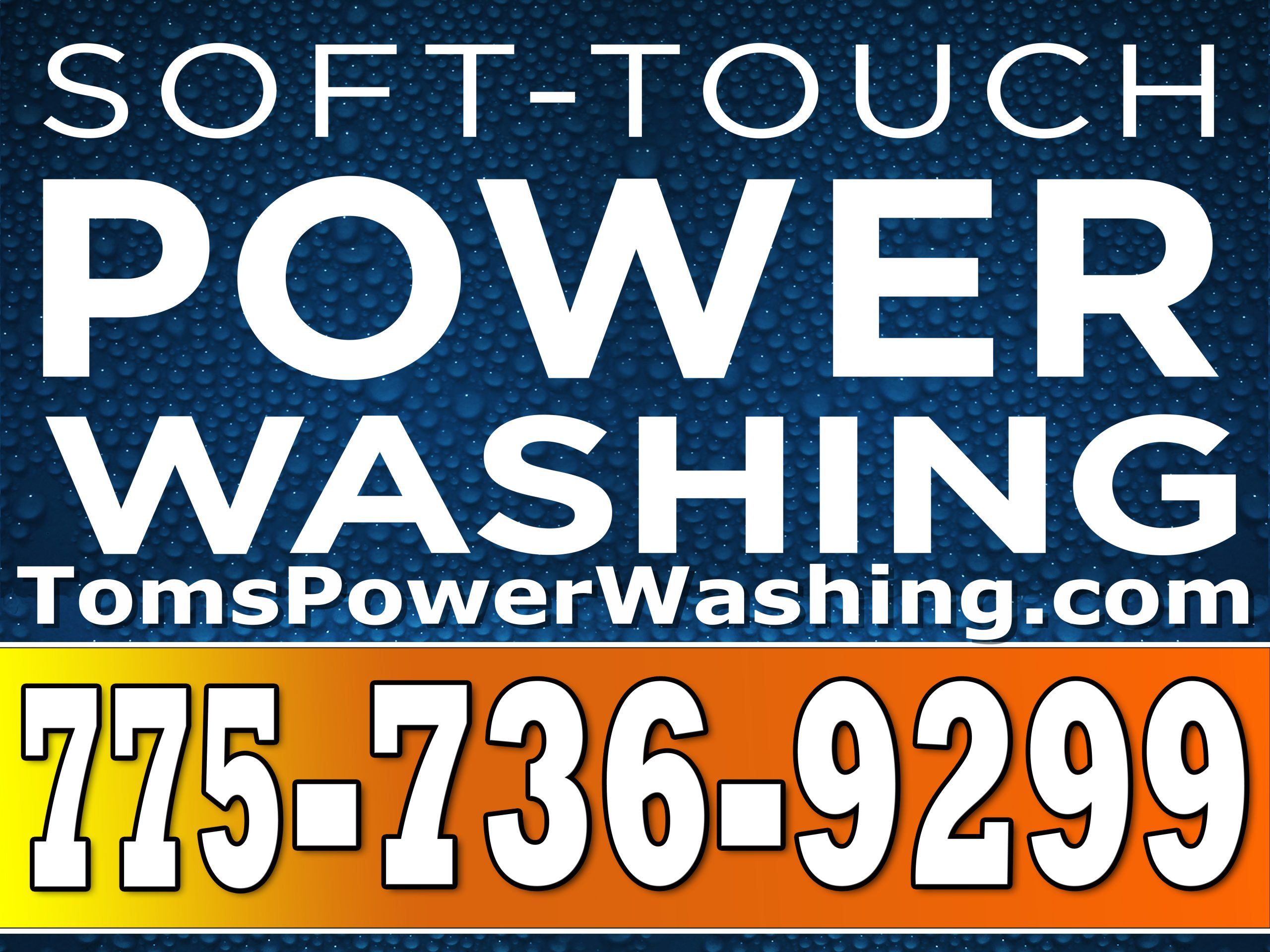Soft Touch Power Washing signs by Sign2Day