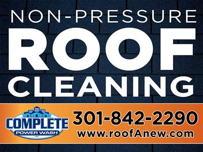 Roof Cleaning Sign2day