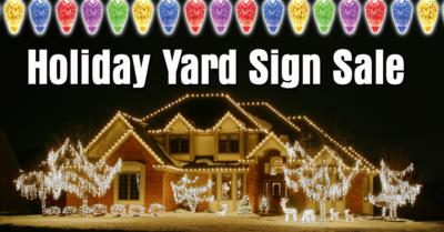 Cheap yard signs