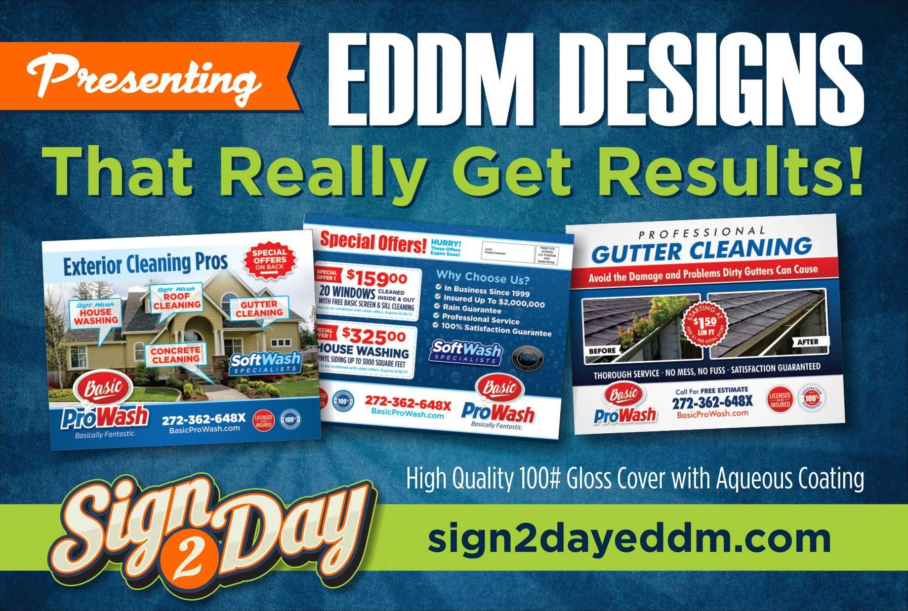 EDDM Postcards by Sign2Day
