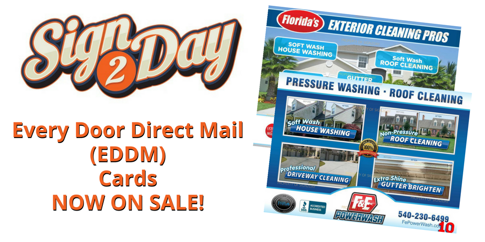 Every Door Direct Mail (EDDM) Cards by Sign2Day