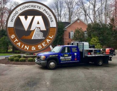 VA Stain & Seal logo designed by Sign2Day
