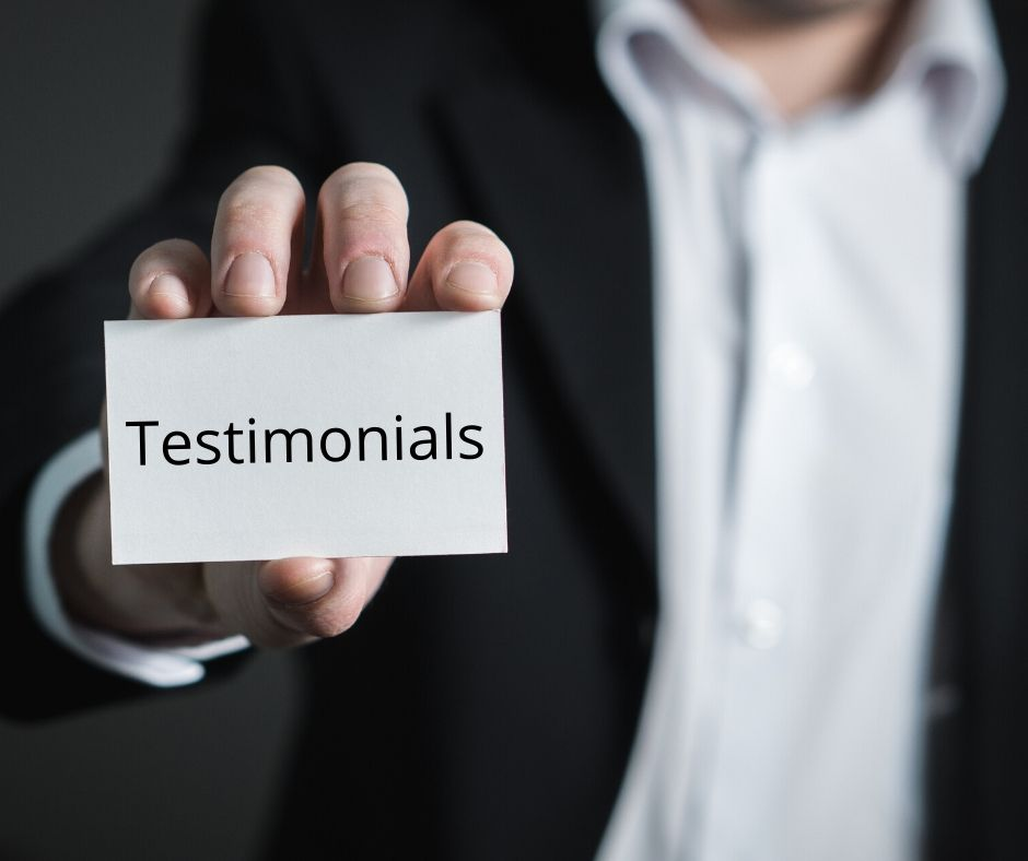 Testimonials about Sign2Day's marketing materials