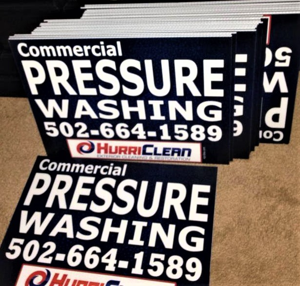 Yard sign design and printing by Sign2Day marketing company
